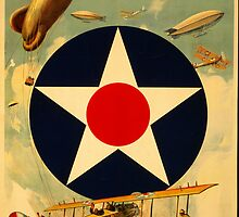 Reprint of a Pre-WW2 US Recruiting Poster  by Chris L Smith