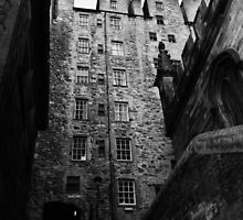 Mylne's Court. Old Town of Edinburgh by LBMcNicoll