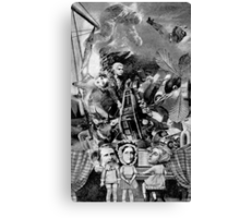 Brave New World on Ruskin. Canvas Print