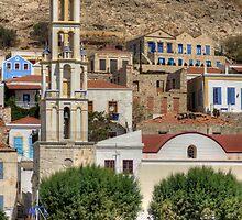 Agios Nikolaos Bell Tower by Tom Gomez