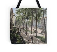 Broadway in Saratoga Springs, New York, ca 1915 (full size) Tote Bag