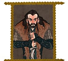 Thorin Oakenshield by amandarts