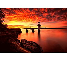 Fiery Dawn Photographic Print