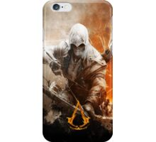 Creed Assassins with flame logo iPhone Case/Skin