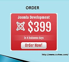 Get Joomla Development Services within Four Business Days. by css4me111