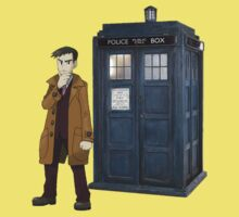 Looker and the Tardis Kids Clothes