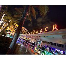 Miami Nightlife Photographic Print