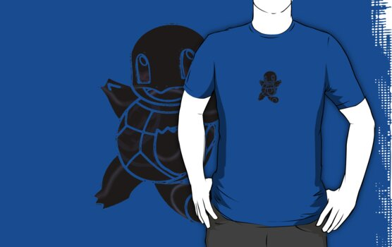 Squirtle Dark by Xeno01