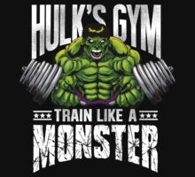 Hulk's Gym by ccourts86