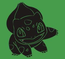 Bulbasaur Dark by Xeno01