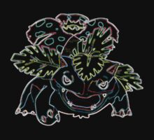 Venusaur Outline by Xeno01