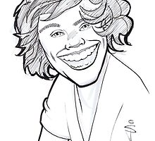 Caricature - Harry Styles by Jan Szymczuk