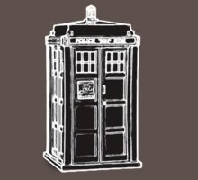 Tardis Cutout Kids Clothes