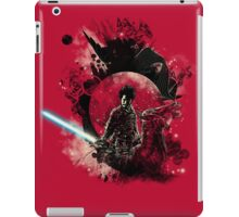 bad side of the samurai iPad Case/Skin