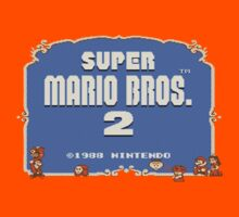 Super Mario Bros. 2 Title Screen by phoenix529