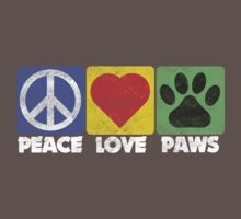 Peace Love Paws Kids Clothes