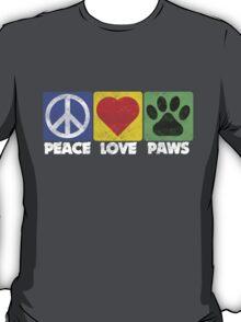 Peace Love Paws T-Shirt