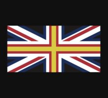 British Flag with St. David's Cross by jezkemp