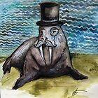 Gentleman Walrus by LBonomatopoeia