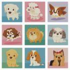 Many poses of puppies by Toru Sanogawa
