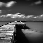 Pier of Bygone Days by Karen Willshaw