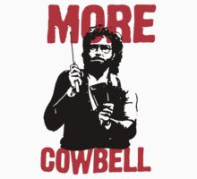 More Cowbell T-Shirt by retrorebirth