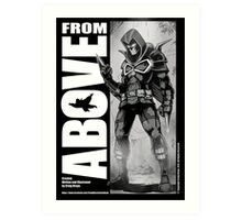 From Above Comic Book Art Print