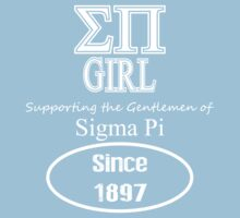 Sigma Pi - Girl Supporter Tee by GREEKTEES