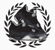 Air Jordan IV (Oreo Inspired Kicks) by PabbzzyArtist