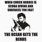 Chuck Norris bends the ocean Scuba diving by BelfastBoy