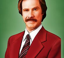 ANCHORMAN - The Legend of Ron Burgundy. by John Medbury (LAZY J Studios)