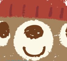 Sketch of Bear sitting Sticker