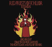 Red Priests of R'hllor by superedu