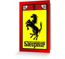 Scuderia Sleipnir Greeting Card