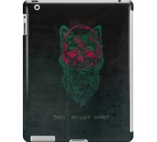 This might hurt iPad Case/Skin