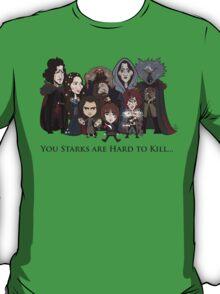 (Book 5 SPOILERS) Stark Family Portrait T-Shirt