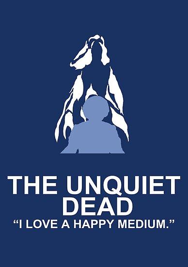 Minimalist 'The Unquiet Dead' Poster by Abboz