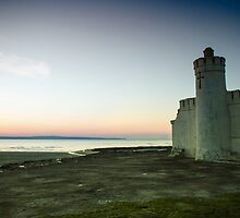 Old Baths, Enniscrone. by Maybrick