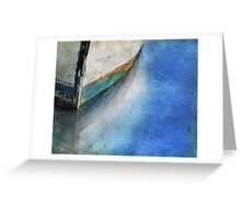 BOAT BOW Greeting Card