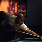 Pool Room Portrait by Fojo