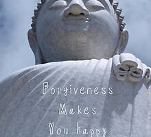 Forgiveness makes you happy :) by Becki Breed
