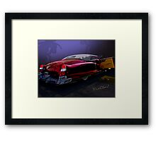 Cadillac Biarritz Convertible Daddy's Caddy Must Have Been Moonglow Framed Print