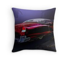 Cadillac Biarritz Convertible Daddy's Caddy Must Have Been Moonglow Throw Pillow