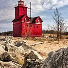 Holland Lighthouse by Karri Klawiter
