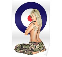 II Squadron RAF Regiment Pinup Poster