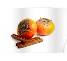 Persimmon Cinnamon Poster