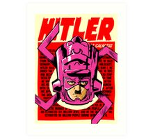 Real Life Supervillains - New World Devourer Art Print