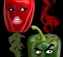 ☝ ☞ BELL PEPPERS WITH AN ATTITUDE ☝ ☞ by ╰⊰✿ℒᵒᶹᵉ Bonita✿⊱╮ Lalonde✿⊱╮