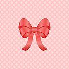 Cute Red Bow by destei