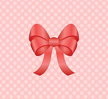 Cute Red Bow by destei
